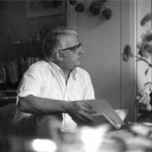 Carl Schlettwein 1976 in Basel